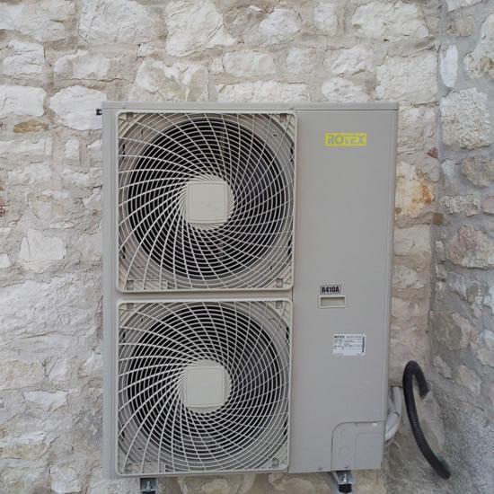 installazione di pompe di calore